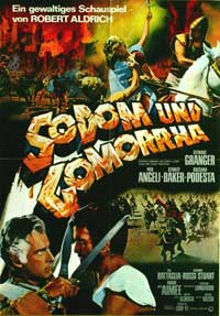 Sodom and Gomorrah - 11 x 17 Movie Poster - German Style B