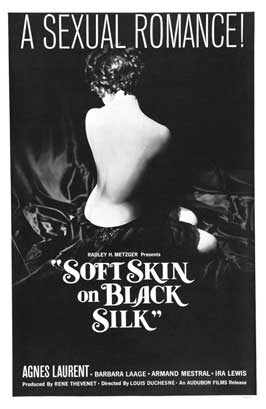 Soft Skin on Black Silk - 27 x 40 Movie Poster - Style A
