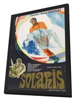 Solaris - 27 x 40 Movie Poster - Russian Style A - in Deluxe Wood Frame