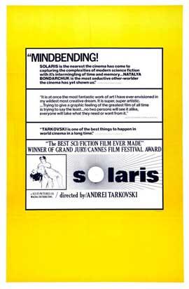 Solaris - 27 x 40 Movie Poster - Style C