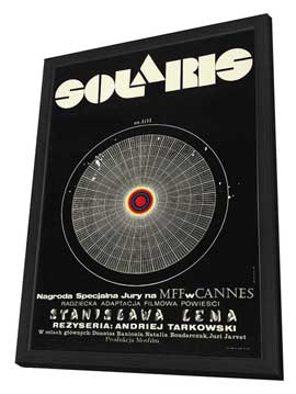 Solaris - 27 x 40 Movie Poster - Polish Style A - in Deluxe Wood Frame