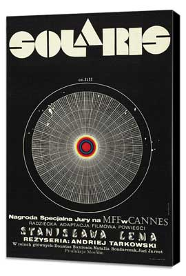 Solaris - 11 x 17 Movie Poster - Polish Style A - Museum Wrapped Canvas