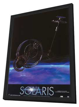 Solaris - 27 x 40 Movie Poster - Style C - in Deluxe Wood Frame