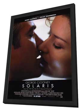 Solaris - 11 x 17 Movie Poster - Style A - in Deluxe Wood Frame
