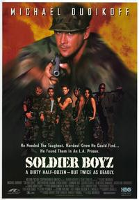 Soldier Boyz - 27 x 40 Movie Poster - Style A