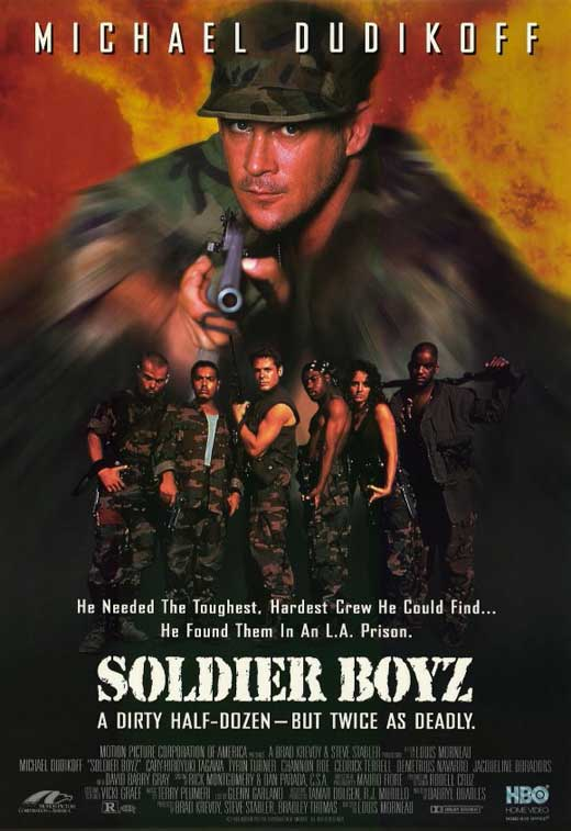 Soldier Boyz Movie Posters From Movie Poster Shop
