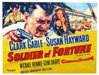 Soldier of Fortune - 22 x 28 Movie Poster - Half Sheet Style A