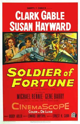 Soldier of Fortune - 11 x 17 Movie Poster - Style A