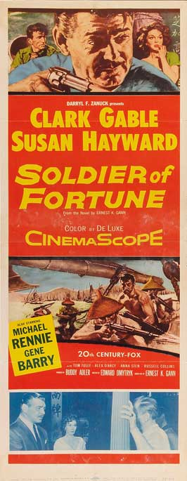 Soldier of Fortune - 14 x 36 Movie Poster - Insert Style A