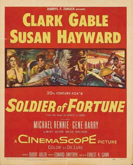 Soldier of Fortune - 11 x 17 Movie Poster - Style B