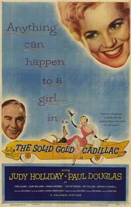 Solid Gold Cadillac - 11 x 17 Movie Poster - Style A