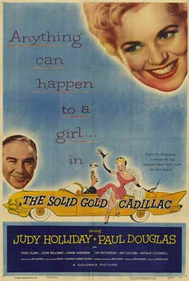 Solid Gold Cadillac - 27 x 40 Movie Poster - Style A