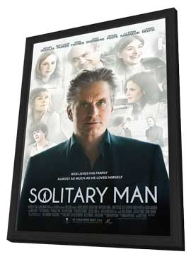 Solitary Man - 11 x 17 Movie Poster - Style A - in Deluxe Wood Frame