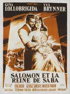Solomon and Sheba - 11 x 17 Movie Poster - French Style B