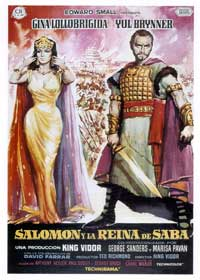 Solomon and Sheba - 43 x 62 Movie Poster - Spanish Style A