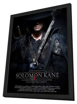 Solomon Kane - 27 x 40 Movie Poster - French Style C - in Deluxe Wood Frame