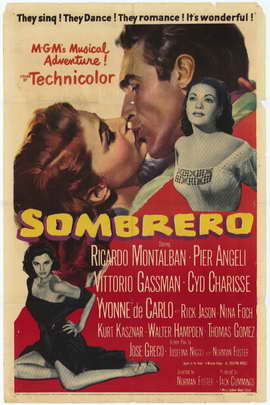 Sombrero - 27 x 40 Movie Poster - Style A