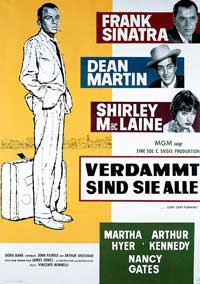 Some Came Running - 11 x 17 Movie Poster - German Style A
