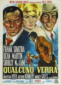 Some Came Running - 27 x 40 Movie Poster - Italian Style B