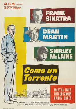 Some Came Running - 27 x 40 Movie Poster - Spanish Style A