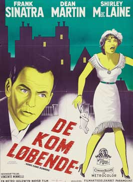 Some Came Running - 11 x 17 Movie Poster - Danish Style A