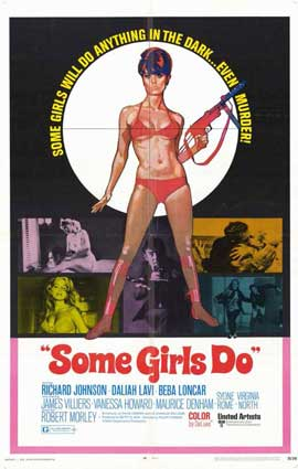 Some Girls Do - 11 x 17 Movie Poster - Style A
