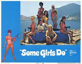 Some Girls Do - 11 x 14 Movie Poster - Style G