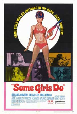 Some Girls Do - 27 x 40 Movie Poster - Style A