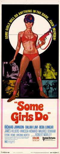 Some Girls Do - 14 x 36 Movie Poster - Insert Style A