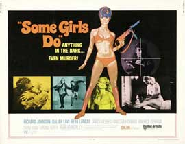Some Girls Do - 22 x 28 Movie Poster - Half Sheet Style A