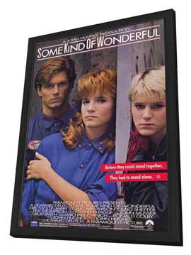 Some Kind of Wonderful - 11 x 17 Movie Poster - Style A - in Deluxe Wood Frame