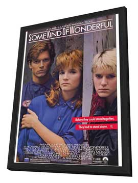 Some Kind of Wonderful - 27 x 40 Movie Poster - Style A - in Deluxe Wood Frame