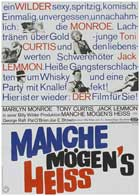 Some Like It Hot - 11 x 17 Movie Poster - German Style E