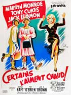 Some Like It Hot - 11 x 17 Movie Poster - French Style B