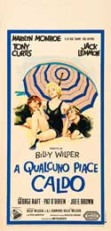 Some Like It Hot - 13 x 28 Movie Poster - Italian Style A