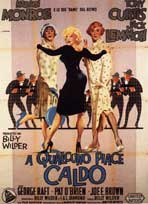 Some Like It Hot - 11 x 17 Movie Poster - Italian Style B