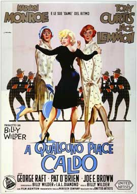 Some Like It Hot - 11 x 17 Movie Poster - Italian Style A