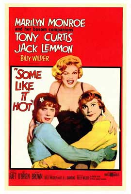 Some Like It Hot - 27 x 40 Movie Poster - Style A