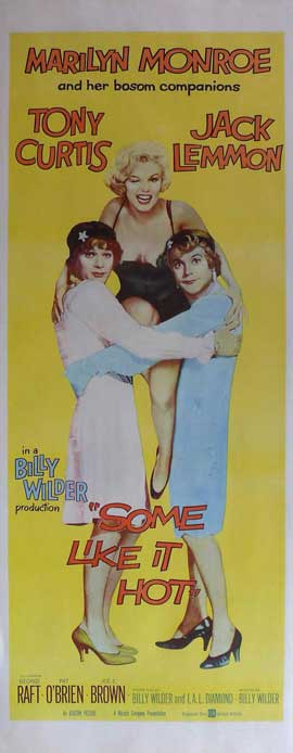 Some Like It Hot - 14 x 36 Movie Poster - Insert Style A