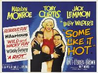 Some Like It Hot - 30 x 40 Movie Poster UK - Style A