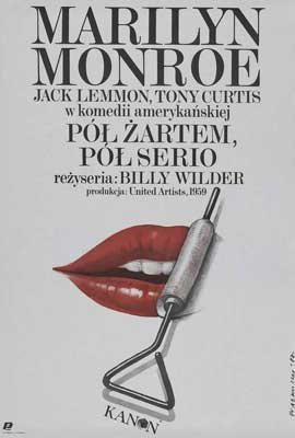 Some Like It Hot - 27 x 40 Movie Poster - Polish Style A
