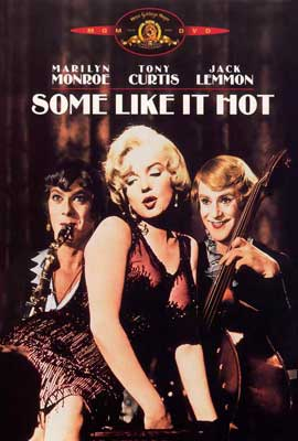 Some Like It Hot - 27 x 40 Movie Poster - Style C