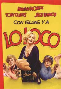 Some Like It Hot - 11 x 17 Movie Poster - Spanish Style B