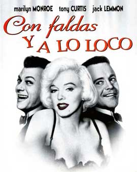 Some Like It Hot - 11 x 17 Movie Poster - Spanish Style C