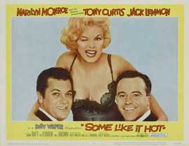 Some Like It Hot - 22 x 28 Movie Poster - Style A