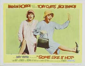 Some Like It Hot - 11 x 14 Movie Poster - Style B