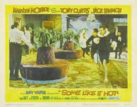 Some Like It Hot - 11 x 14 Movie Poster - Style C