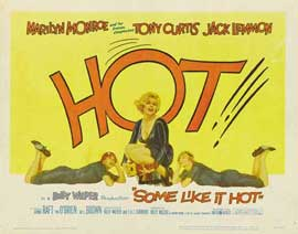 Some Like It Hot - 11 x 14 Movie Poster - Style D