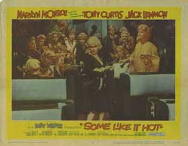 Some Like It Hot - 11 x 14 Movie Poster - Style E