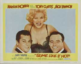 Some Like It Hot - 11 x 14 Movie Poster - Style F